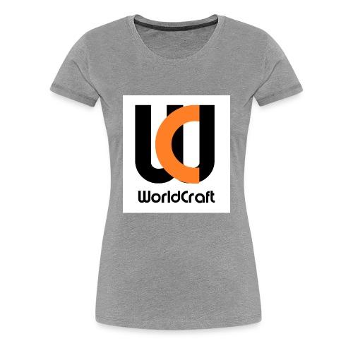 T-Shirt Dam WC Logga - Premium-T-shirt dam