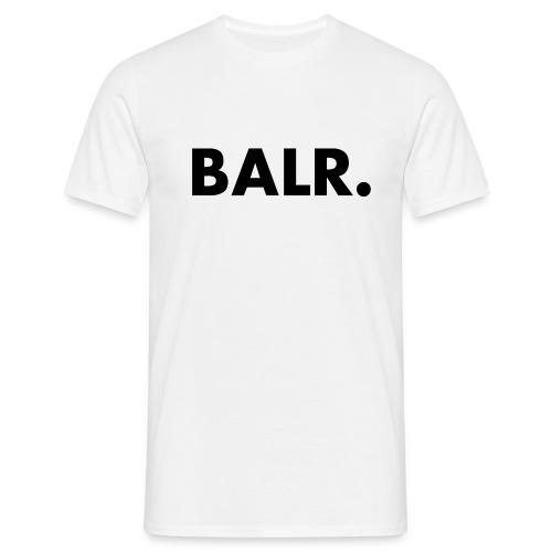 Brand Shirt White - BALR. - Mannen T-shirt