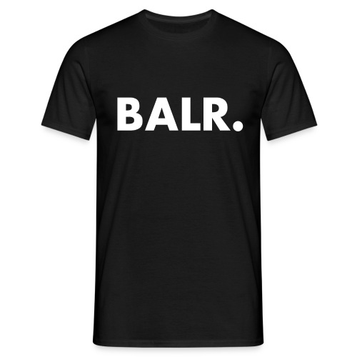 Brand Shirt Black - BALR. - Mannen T-shirt