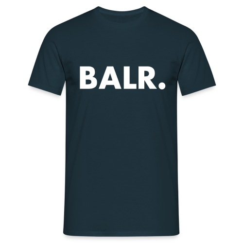 Brand Shirt Navy Blue - BALR. - Mannen T-shirt