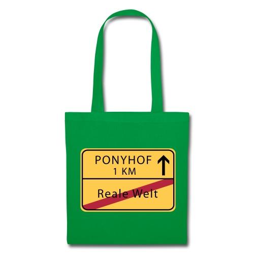 Ponyhof Reale Welt (md) - Stoffbeutel