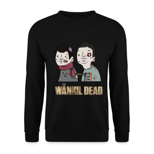 Sweatshirt The Wankil Dead - Sweat-shirt Homme
