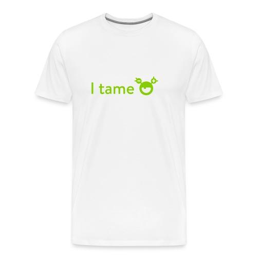 mySugr T-Shirt: I tame - Men's Premium T-Shirt