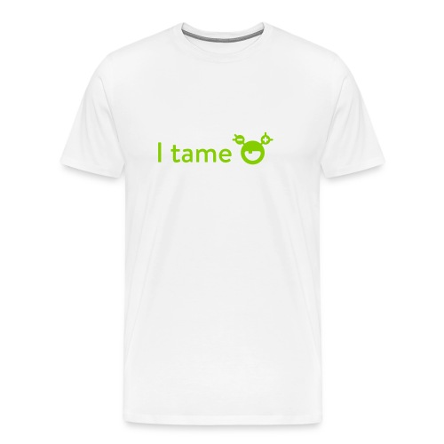 mySugr T-Shirt: I tame - Men's Premium T-Shirt