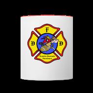 Tassen & Zubehör ~ Tasse zweifarbig ~ Fire Cup