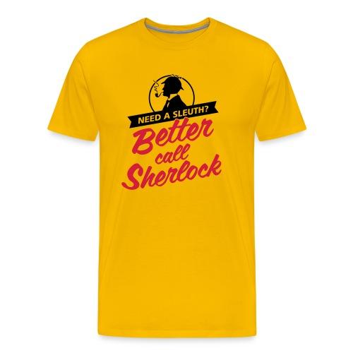 Better Call Sherlock Männer T-Shirt - Männer Premium T-Shirt