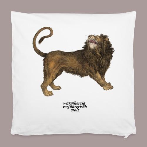 Kissenbezug Löwe Tierkreiszeichen - Kissenbezug 40 x 40 cm