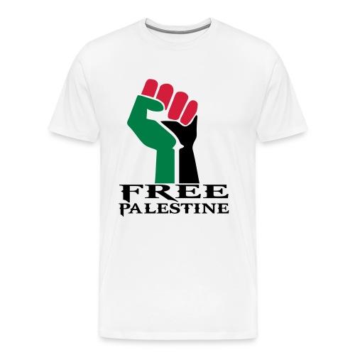 free palestine - Maglietta Premium da uomo
