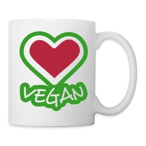 voor vegans laat zien wie je bent - Mok