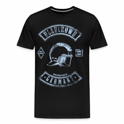 blaucrowd rockt! Männershirt  - Männer Premium T-Shirt