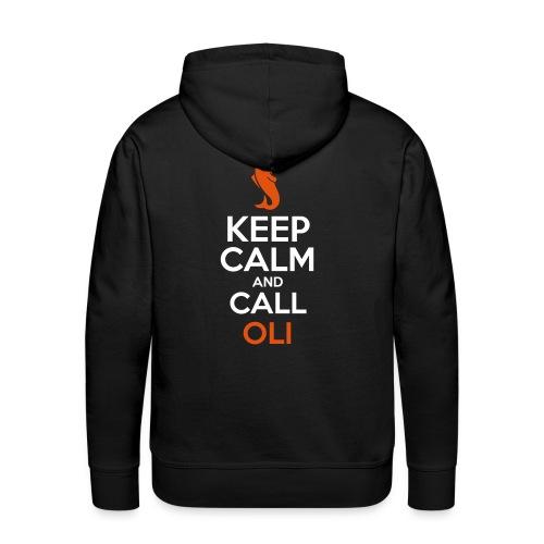 Oli - Sweat-shirt à capuche Premium pour hommes