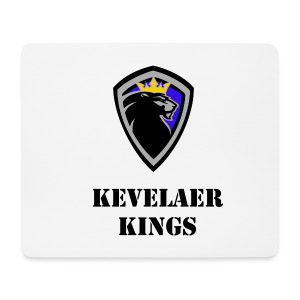 Kings Mouse Pad weiß - Mousepad (Querformat)