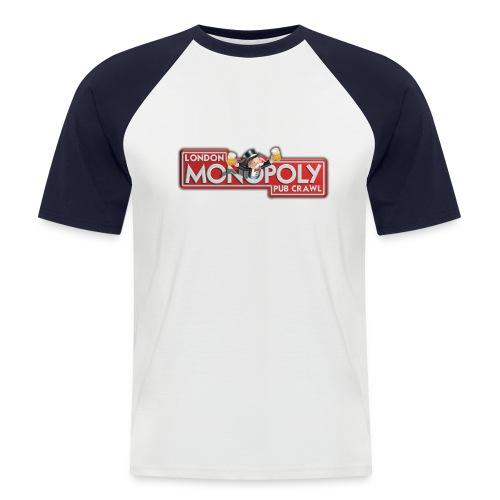 Monoploy Pub Crawl - Men's Baseball T-Shirt