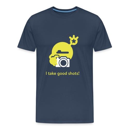 mySugr T-Shirt: Take a shot - Men's Premium T-Shirt