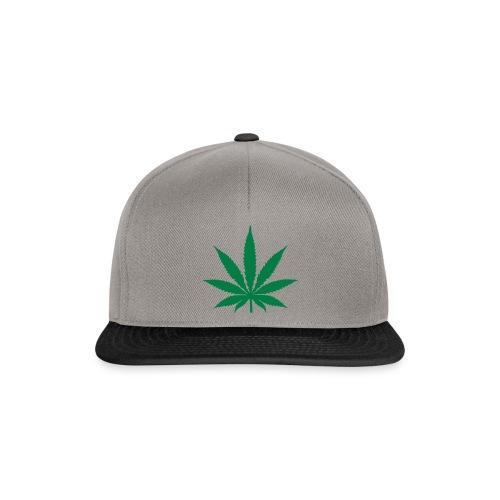 cappello marijuana  - Snapback Cap