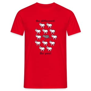 be different - Mannen T-shirt