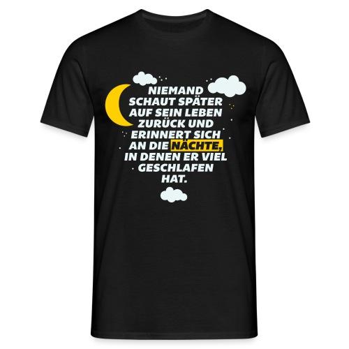 Schlaflose Partynächte - Männer T-Shirt