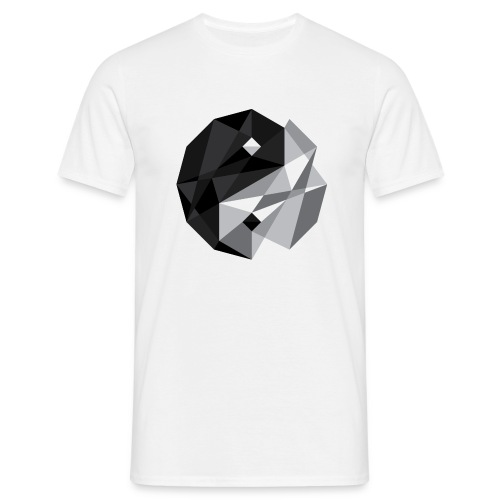 Yin Yang - redefinied by JF - Men's T-Shirt