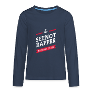 Langarmshirts ~ Teenager Premium Langarmshirt ~ Langarm-Shirt Seenotrapper, Teenager
