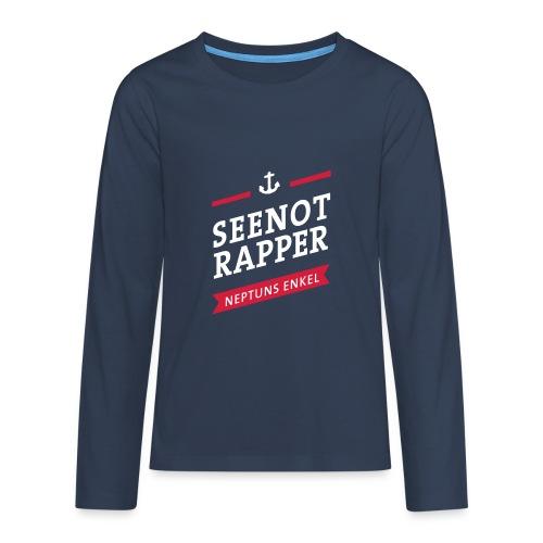 Langarm-Shirt Seenotrapper, Teenager - Teenager Premium Langarmshirt