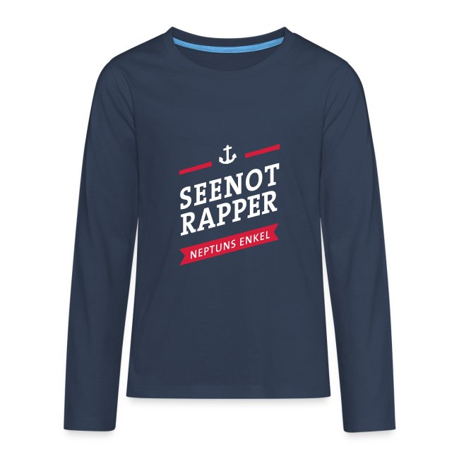 Langarm-Shirt Seenotrapper, Teenager