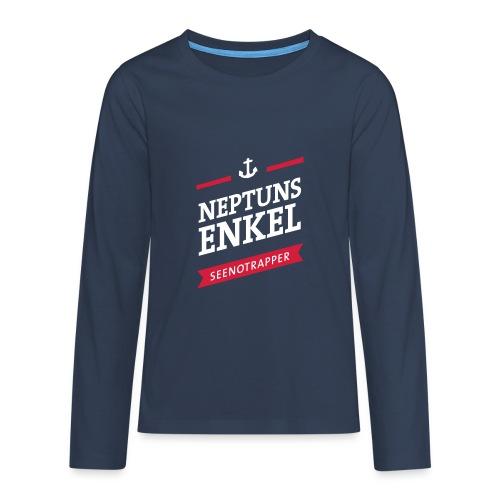 Langarm-Shirt Neptuns Enkel, Teenager - Teenager Premium Langarmshirt