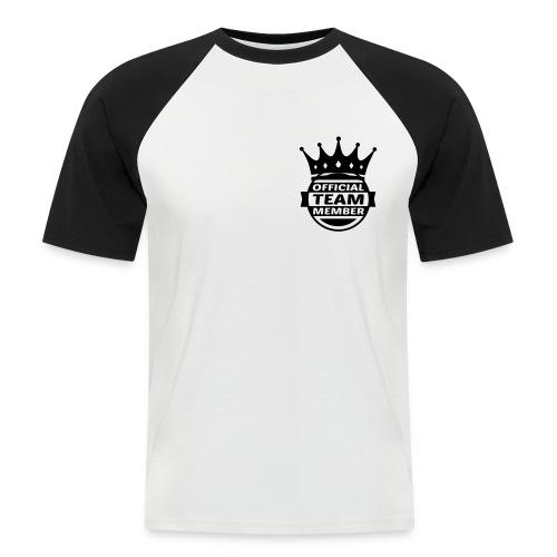 #Official#City - Men's Baseball T-Shirt