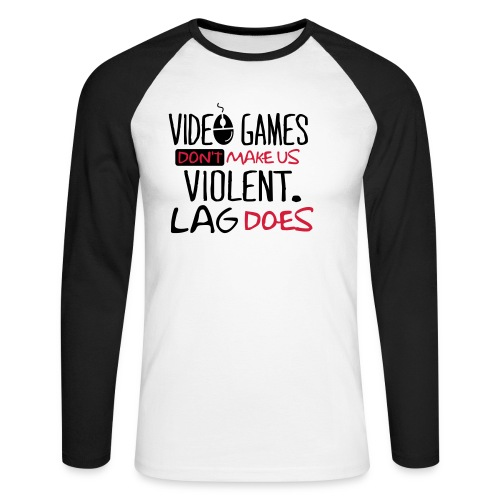 SwagShirt - Men's Long Sleeve Baseball T-Shirt