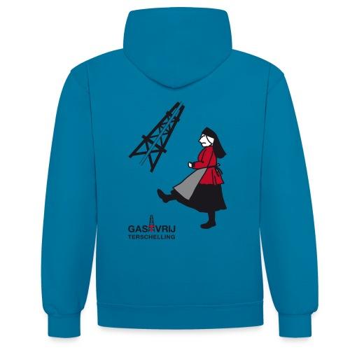 gasTvrij Terschelling! - Contrast hoodie