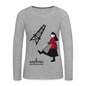 Tegengas! - Vrouwen Premium shirt met lange mouwen