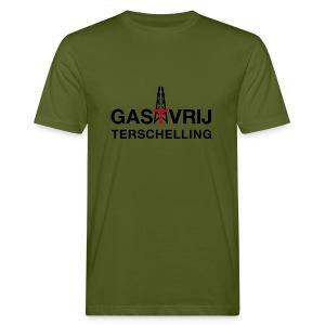 Wat groen is, moet groen blijven! - Mannen Bio-T-shirt
