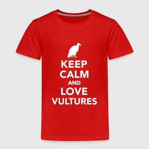 Keep calm and love vultures T-Shirts - Kinder Premium T-Shirt