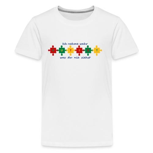 Autismus-Shirt 2 - Teenager Premium T-Shirt