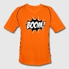 Comic Boom, Bang, Star, Superhero, Quotes, Funny T-Shirts - Men's Football Jersey