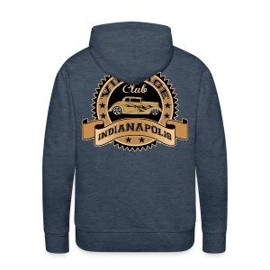Vintage cars club - Men's Premium Hoodie