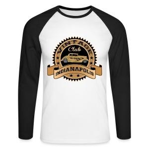 Vintage cars club - Men's Long Sleeve Baseball T-Shirt