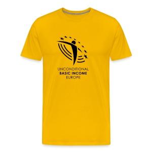 UBIE man shirt yellow - Mannen Premium T-shirt