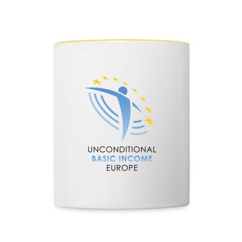 UBIE mub white/yellow - Contrasting Mug