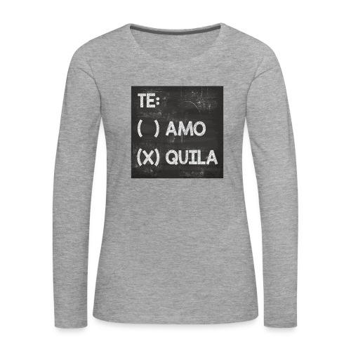 Teamo vs. Tequila - Frauen Premium Langarmshirt