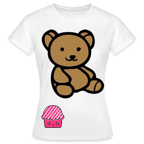 T-Shirt OURS  - T-shirt Femme