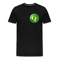 T-Shirts ~ Men's Premium T-Shirt ~ Men's T-shirt with QGIS logo on the front