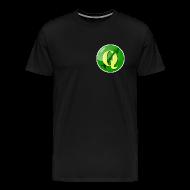 T-Shirts ~ Men's Premium T-Shirt ~ Men's T-shirt with QGIS logo on the front