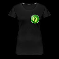 T-Shirts ~ Women's Premium T-Shirt ~ Women's t-shirt with QGIS logo on the front