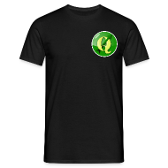 T-Shirts ~ Men's T-Shirt ~ Men's T-shirt with QGIS logo on the front & back