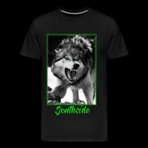 Southside Wolf - Männer Premium T-Shirt