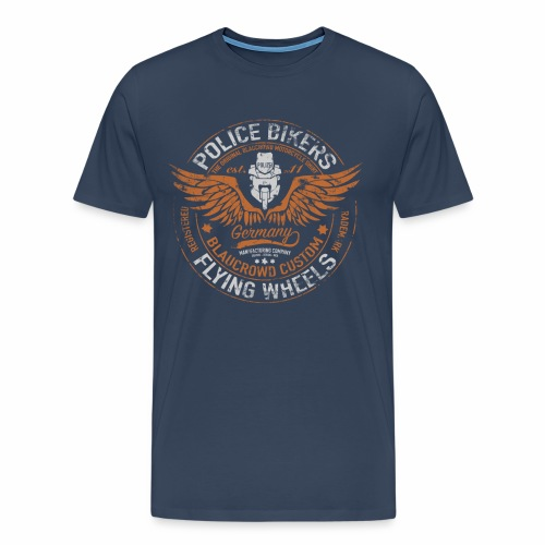 police bikers Männershirt - Männer Premium T-Shirt