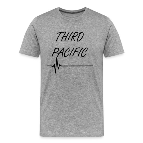 Mens Third Pacific Heartbeat Tee - Men's Premium T-Shirt