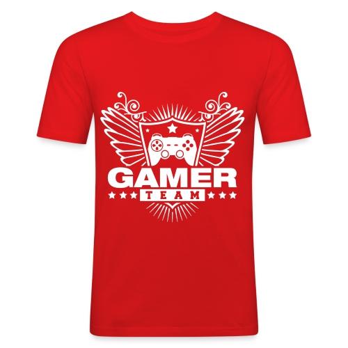 Camiseta Hombre: Gamer - Camiseta ajustada hombre