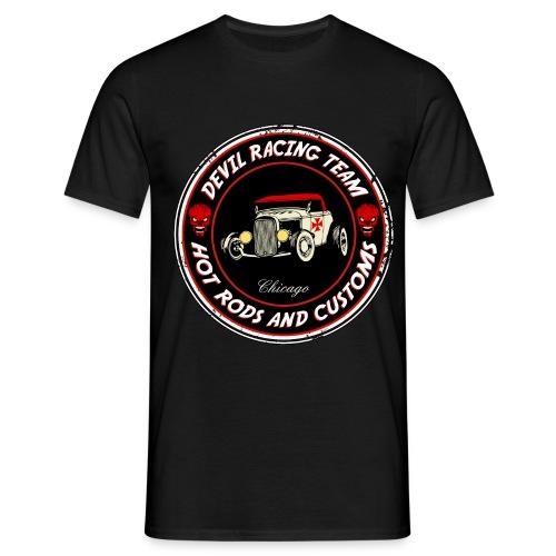 Devil racing team 01 - Men's T-Shirt