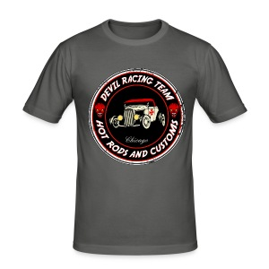 Devil racing team 01 - Men's Slim Fit T-Shirt